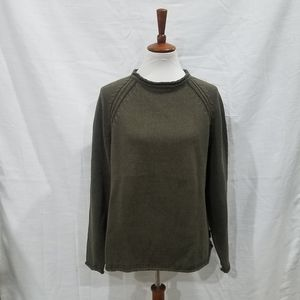 Woolrich Olive Knit Sweater